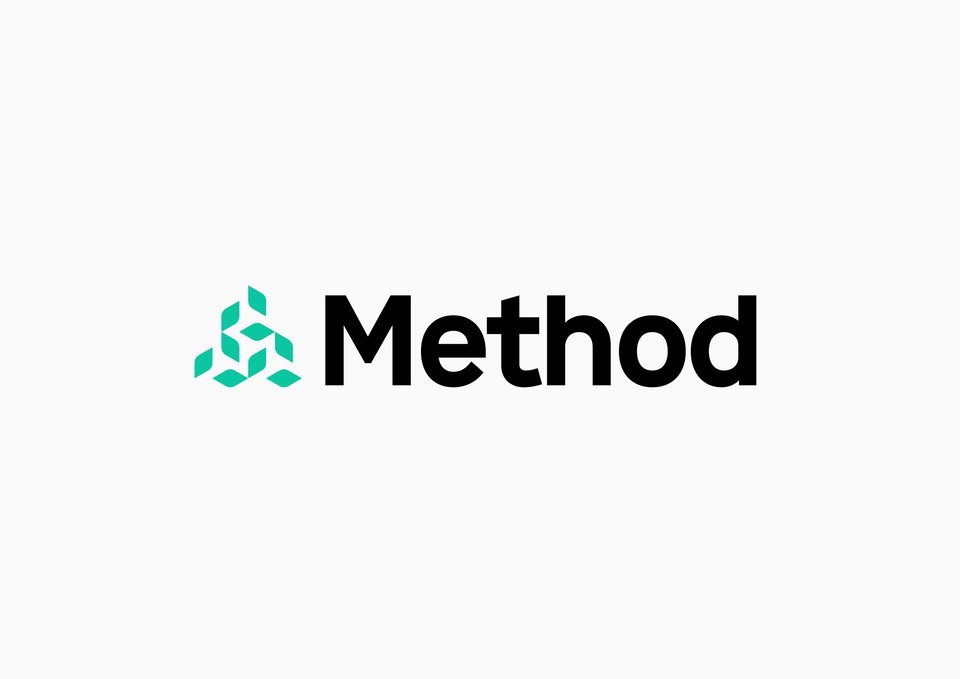 Method logo with wordmark