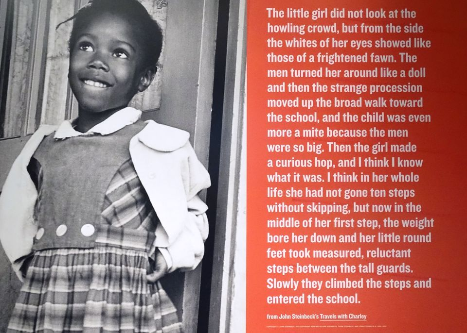 Ruby Bridges exhibit at the National Center for Civil and Human Rights