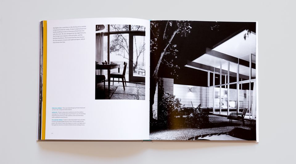 Interior spread from California Moderne and the Mid-Century Dream