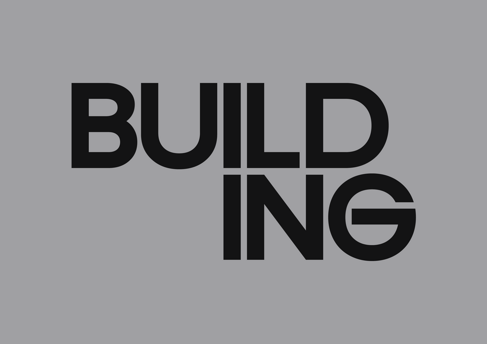 Logo of the word Building