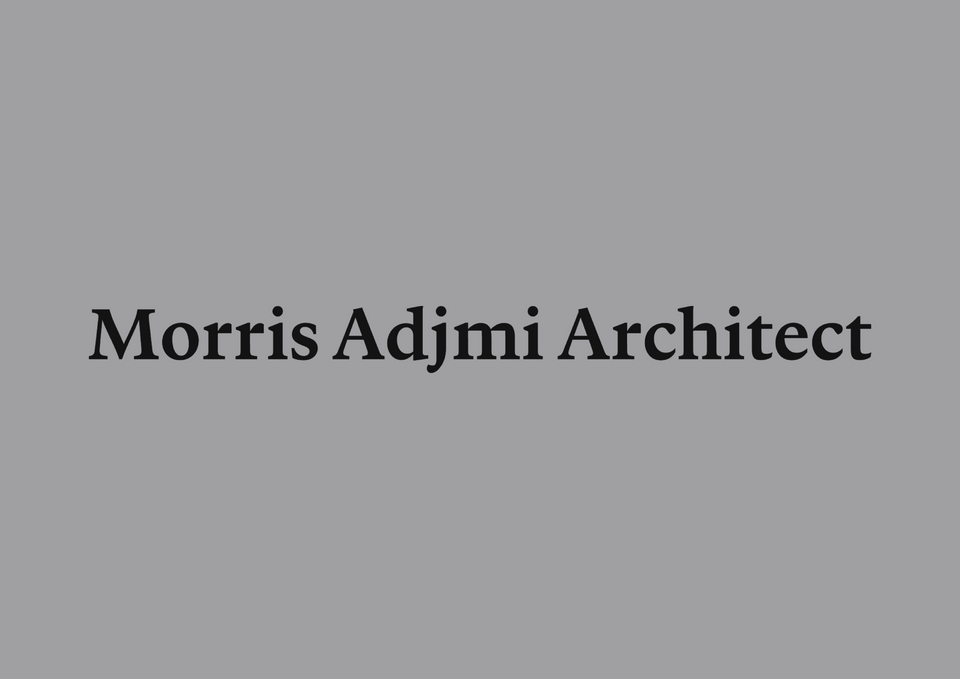 Logo of the words Morris Adjmi Architect