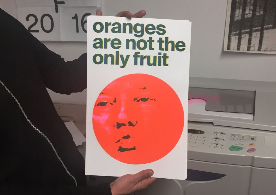 Oranges Are Not The Only Fruit poster
